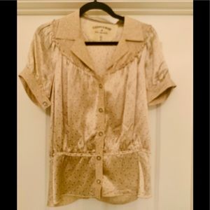Converse blouse size small.